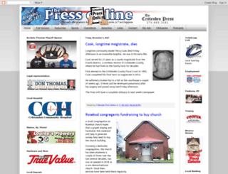 the-press.com screenshot