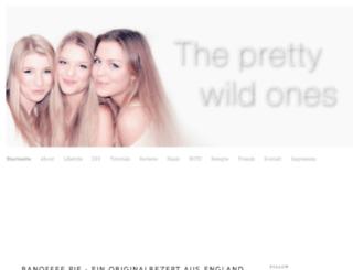 the-pretty-wild-ones.blogspot.com screenshot