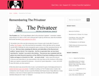 the-privateer.com screenshot