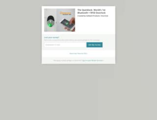 the-quicklock-worlds-1st-bluetooth-rf-enabled-door.backerkit.com screenshot