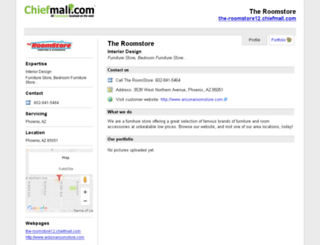 the-roomstore12.chiefmall.com screenshot