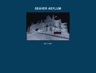the-seaver-asylum.com screenshot