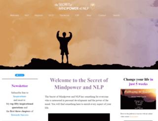 the-secret-of-mindpower-and-nlp.com screenshot