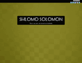the-solomons.net screenshot