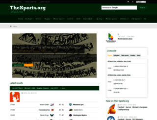 the-sports.org screenshot