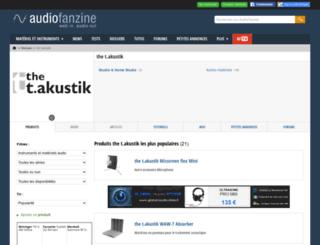 the-t-akustik.audiofanzine.com screenshot