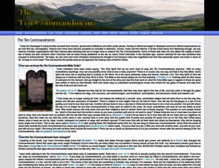 the-ten-commandments.org screenshot