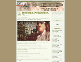the-two-malcontents.com screenshot
