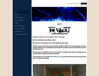 the-vault.org screenshot