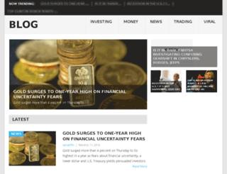 the-viral-blog.com screenshot