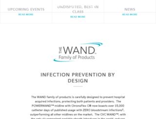 the-wand.com screenshot