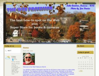 the-web-professor.com screenshot