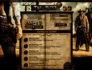 the-west.pl screenshot
