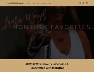 the-will2wow-jewelry.myshopify.com screenshot