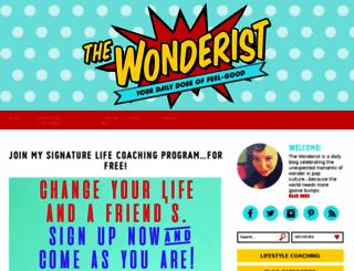 the-wonderist.com screenshot