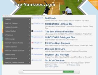 the-yankees.com screenshot