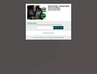 the-zip-fit-shirt-the-best-fitted-shirt-on-the-pla.backerkit.com screenshot