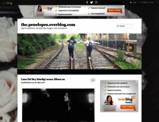 the.penelopes.overblog.com screenshot
