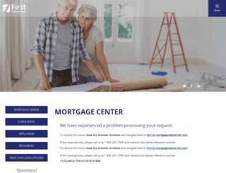 the1st.mortgagewebcenter.com screenshot