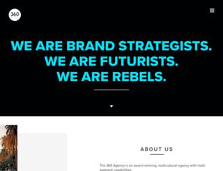 the360agency.com screenshot
