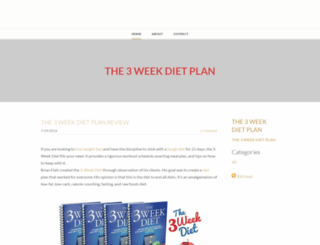 the3weekdiet-plan.weebly.com screenshot