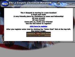 the4gospels.net screenshot