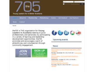 the705.memberlodge.org screenshot