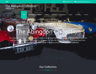 theabingdoncollection.com screenshot
