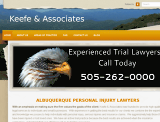 theabqlawfirm.com screenshot