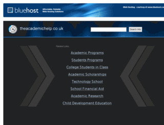 theacademichelp.co.uk screenshot