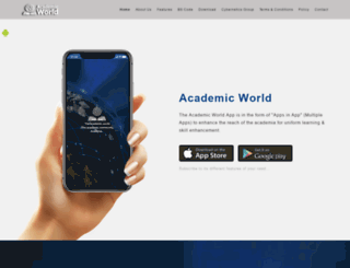 theacademicworld.com screenshot