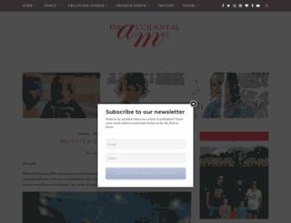 theaccidentalmrs.com screenshot