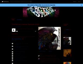theactivelistener.bandcamp.com screenshot
