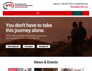 theaftd.org screenshot