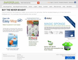 theagada.com screenshot