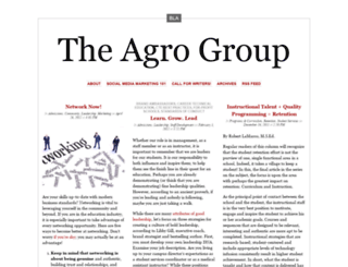 theagrogroup.wordpress.com screenshot
