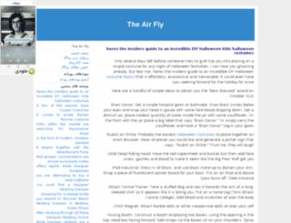 theairfly.javanblog.com screenshot