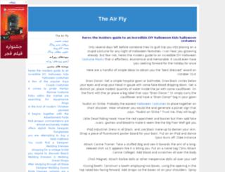theairfly.jbg.ir screenshot