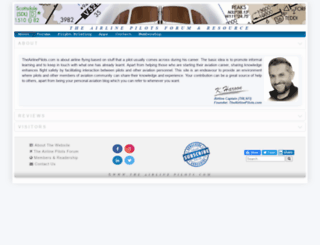 theairlinepilots.com screenshot