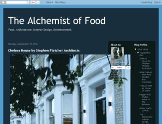 thealchemistoffood.blogspot.com screenshot