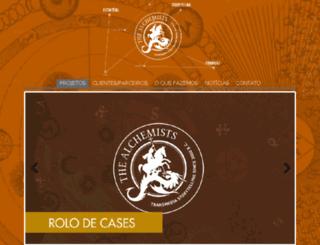 thealchemists.com screenshot