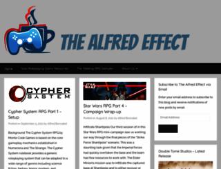 thealfredeffect.com screenshot