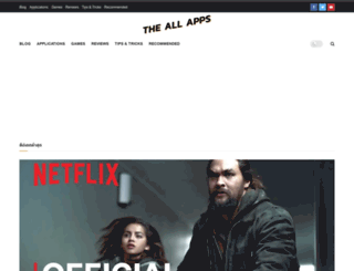 theallapps.com screenshot