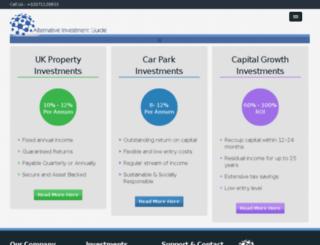 thealternativeinvestmentguide.com screenshot