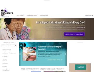 thealzheimerssite.com screenshot