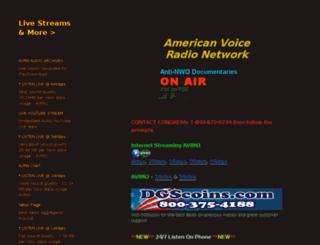 theamericanvoice.com screenshot