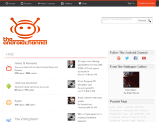 theandroidchannel.com screenshot