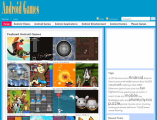 theandroidgames.com screenshot