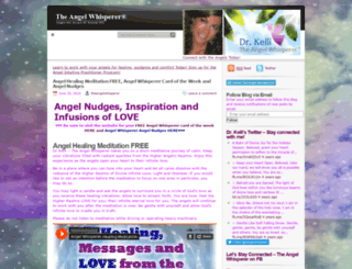 theangelwhisperer.wordpress.com screenshot