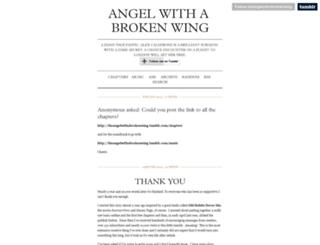 theangelwithabrokenwing.tumblr.com screenshot